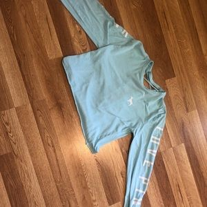 A light blue Long sleeves from PINK